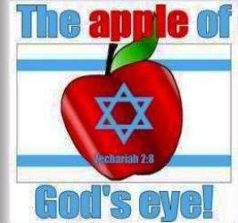 israel apple of gods eye